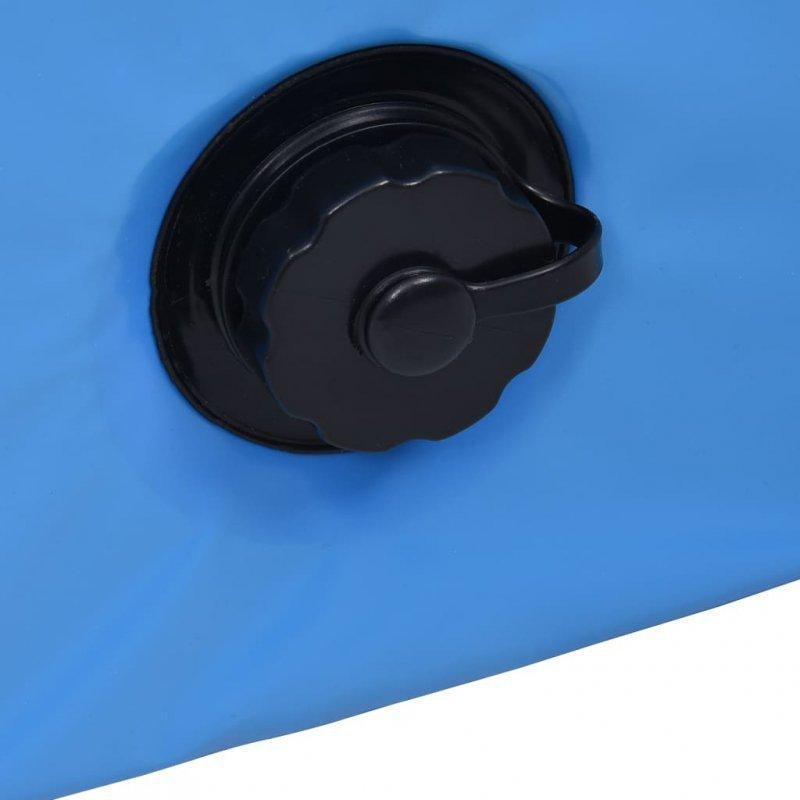 Składany basen dla psa, niebieski, 120 x 30 cm, PVC