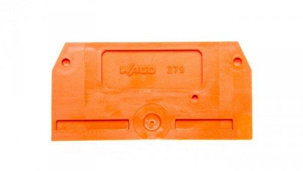 Ścianka końcowa pomarańczowa 279-328 /25szt./