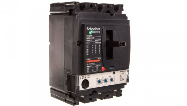 Wyłącznik mocy 250A 3P 36kA Compact NSX250F Micrologic 2.2 LV431770