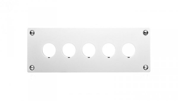 Płyta montażowa przycisków 5-otworowa M22-E5 216546
