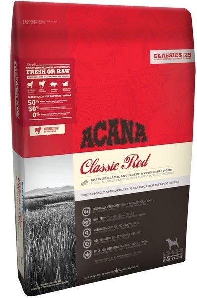 ACANA PIES 6kg CLASSIC RED