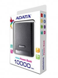 ADATA PV150 Power Bank 10000mAh 2.1A LED - Czarny