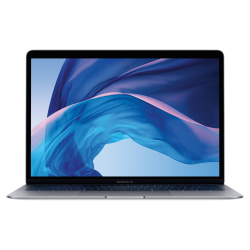 MacBook Air Retina True Tone z Touch ID i5 1.6GHz / 8GB / 128GB SSD / UHD Graphics 617 / macOS / Space Gray (2019)