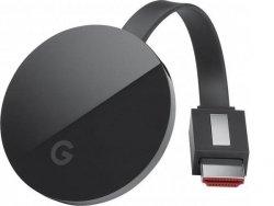 Google Chromecast ULTRA Stream TV 4K HDR