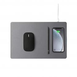 Pout Hands 3 Pro Combo Wireless Charging Mouse Pad - Podkładka ładująca + mysz, w kolorze Deep Grey (szary)