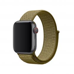 Apple opaska sportowa Nike w kolorze oliwkowym do Apple Watch 38/40 mm