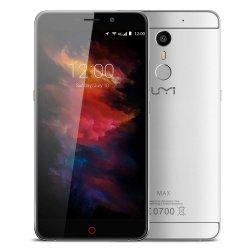 Smartfon Umi Max 16GB LTE 5,5 (srebrny) POLSKA DYSTRYBUCJA