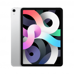 Apple iPad Air 4-generacji 10,9 cala / 64GB / Wi-Fi + LTE (cellular) / Silver (srebrny) 2020 - nowy model