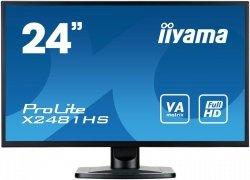 IIYAMA 24 X2481HS-B1 VA FullHD Głośniki