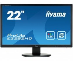 IIYAMA E2282HD-B1 22 DVI DSUB