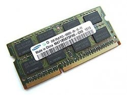 Pamięć RAM 2GB Samsung SO-DIMM DDR3 1333MHz CL9