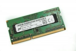 Pamięć RAM 4GB Micron SO-DIMM DDR3 1600MHz PC3-12800 CL11