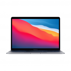 MacBook Air z Procesorem Apple M1 - 8-core CPU + 8-core GPU /  8GB RAM / 2TB SSD / 2 x Thunderbolt / Space Gray