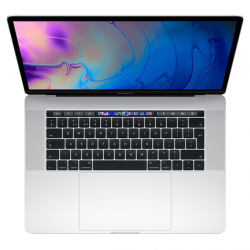 MacBook Pro 15 Retina Touch Bar i9-9980H / 16GB / 2TB SSD / Radeon Pro 555X / macOS / Silver (2019)