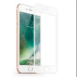 KMP Szkło ochronne do iPhone 8 Plus White (biały)