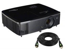 --- HDMI 7,5m GRATIS ---- Projektor OPTOMA HD142X DLP FullHD 3000ANSI