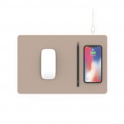 Pout Hands 3 Pro Wireless Charging Mouse Pad - Podkładka ładująca w kolorze Latte Cream (beżowy)