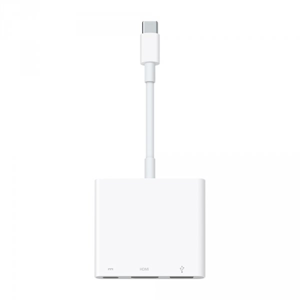 Apple Wieloportowa przejściówka z USB-C na cyfrowe AV