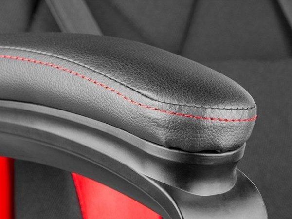 Fotel dla graczy GENESIS SX33 Nitro330 Czerwono-czarny