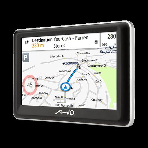 MIO Spirit 7700 LM Nawigacja samochodowa Mapy Europa (dożywotnia aktualizacja)