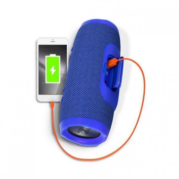 Głośnik JBL Charge 3 Bluetooth Wodoodporny Niebieski