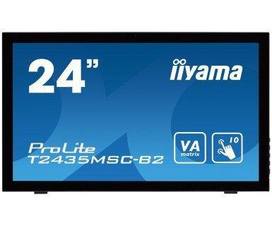 IIYAMA T2435MSC-B2 24 DOTYKOWA VA USB HDMI DP WEBCAM