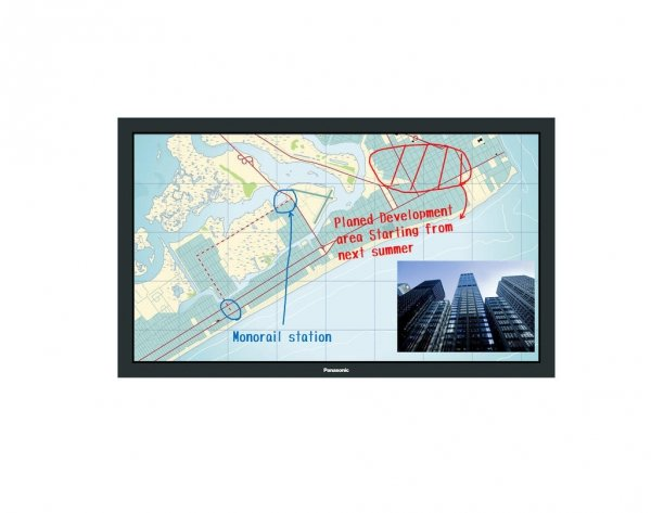 Monitor Panasonic TH-80BF1E 80 VA multi-touch Miracast+Intel WiDi, Digital Link, szyba ochronna
