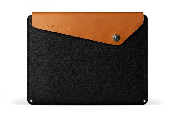 """Mujjo Sleeve Etui do MacBook Pro 13"""" Brown (brązowo-czarny)"""
