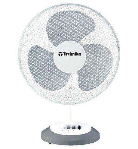 Wentylator biurkowy TECHNIKA TK-1614 Biały 30cm