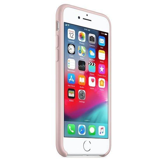 Apple Silicon Case Etui do iPhone 7/8 Pink Sand (piaskowy róż)