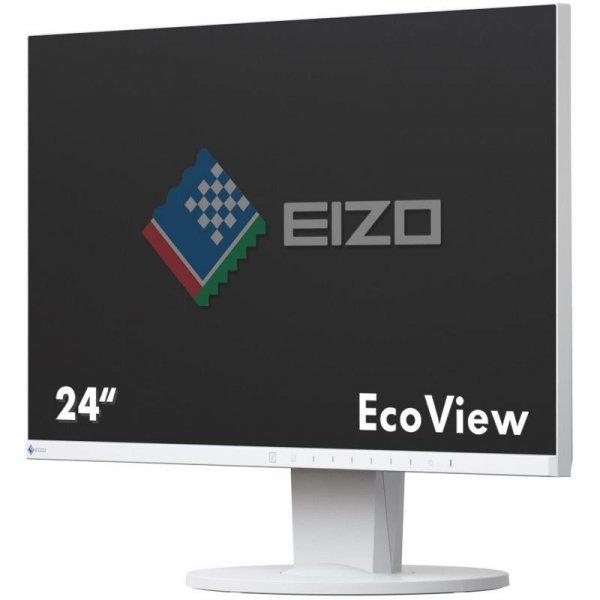 EIZO FlexScan EV2450 24 Biały IPS FullHD HDMI DisplayPort