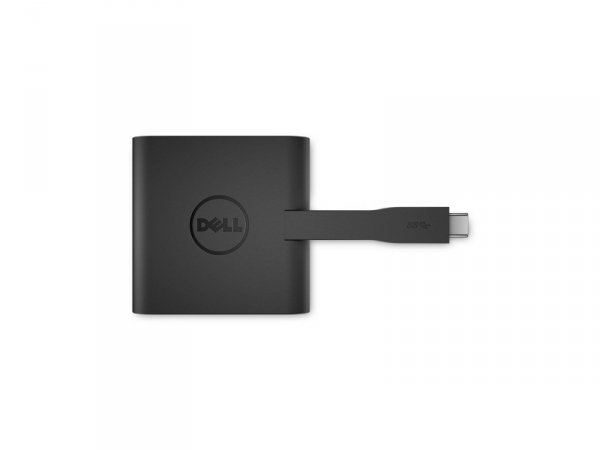 Adapter Dell USB-C do HDMI VGA USB 3.0 LAN
