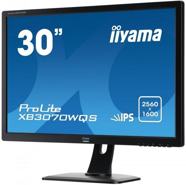 "IIYAMA XB3070WQS-B1 30"" AH-IPS WQS 109% AdobeRGB, 146% sRGB"