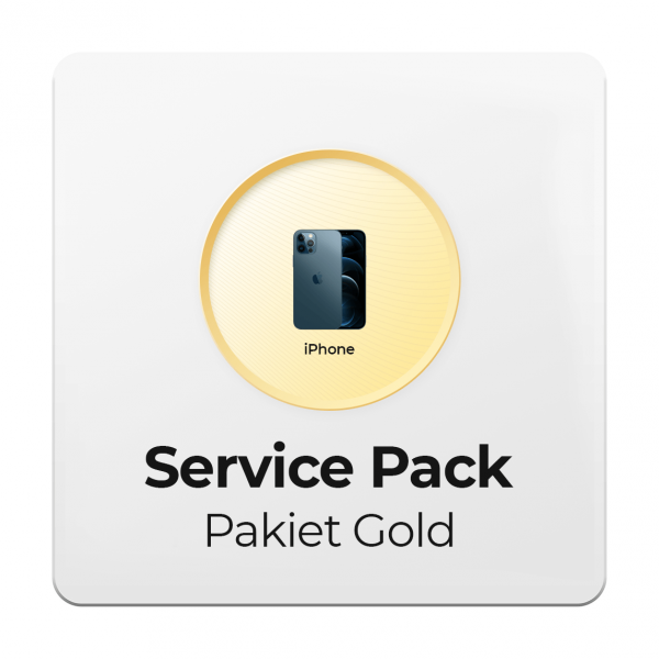 Service Pack - Pakiet Gold 2Y do Apple iPhone - 2 letni okres ochrony