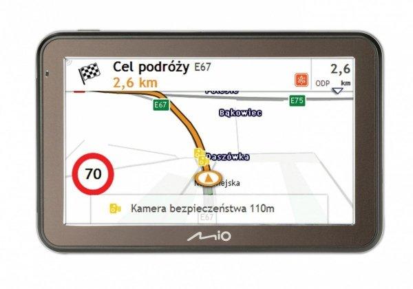 MIO Spirit 7500EU Nawigacja samochodowa Mapy Europa (dożywotnia aktualizacja)