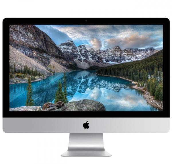 """iMac 27"""" Retina 5K i7-7700K/8GB/256GB SSD/Radeon Pro 575 4GB/macOS Sierra"""