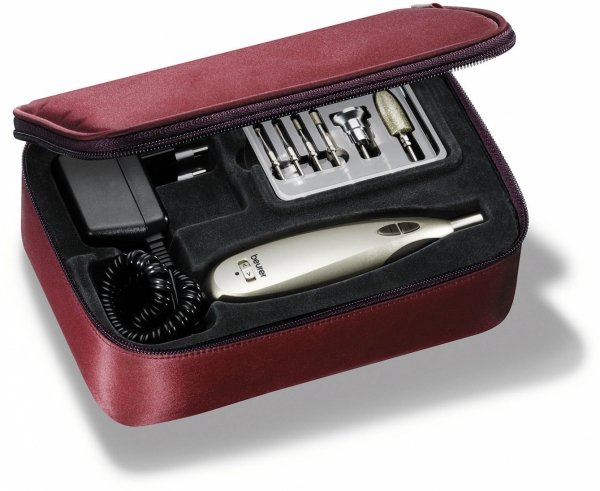 Beurer MP 60 zestaw do manicure/pedicure + końcówki