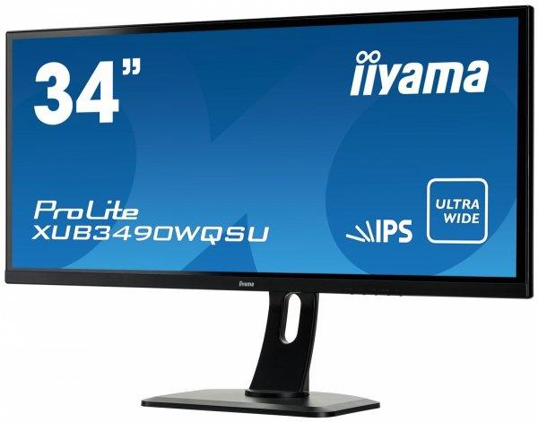 """IIYAMA XUB3490WQSU-B1 34"""" 21:9 IPS UWQHD"""