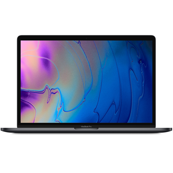MacBook Pro 15 Retina Touch Bar i7-9750H / 16GB / 2TB SSD / Radeon Pro 555X / macOS / Space Gray (2019)