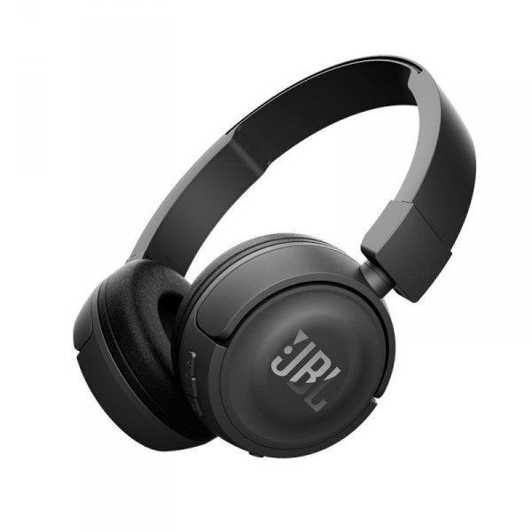 JBL T450BT PureBass słuchawki bluetooth czarne