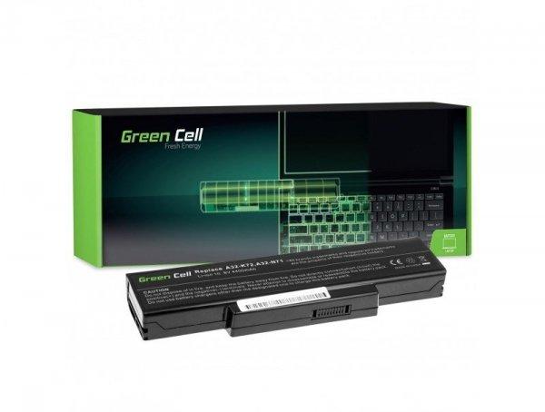 Bateria Green Cell A32-K72 A32-N71 do Asus K72 K72J K72F K73SV N71 N71J N73SV X73S