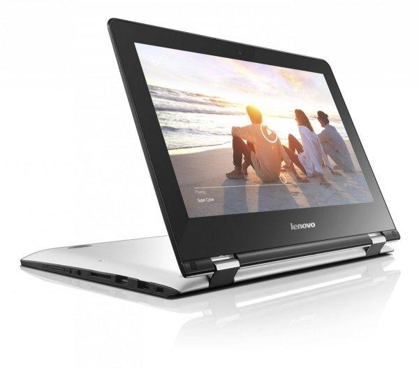 Lenovo Yoga 300-11 N3700/4GB/500GB/Win10 Touch Biały - powystawowy