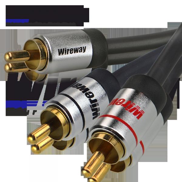 Kabel RCA Wireway 8m Y 1-2