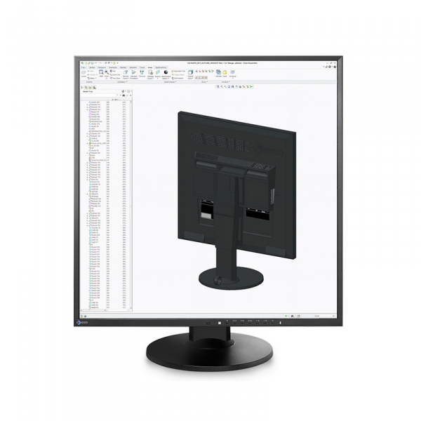 EIZO FlexScan EV2730Q 27 Czarny 1:1 FullHD 1920 x 1920 DisplayPort