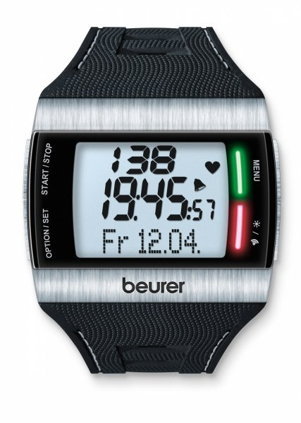 Beurer PM62 Zegarek Pulsometr EKG BMR wodoszczelny