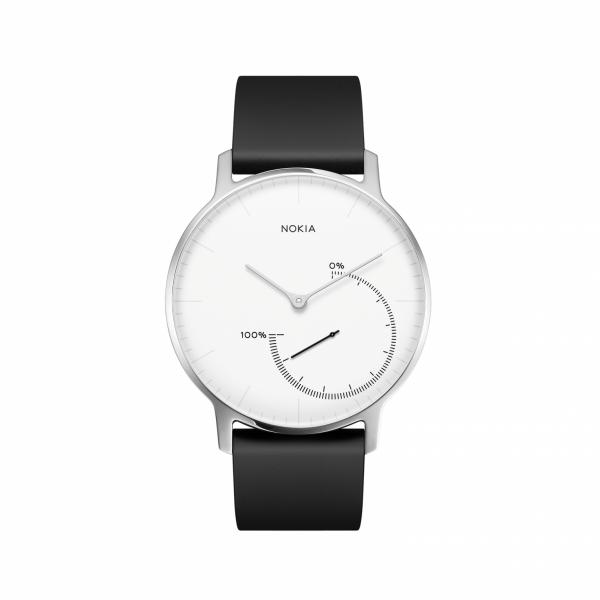 NOKIA Activité Steel - zegarek monitorujący aktywność fizyczną i sen iOS i Android (biały)