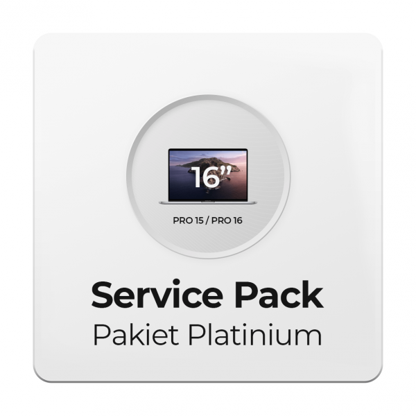 Service Pack - Pakiet Platinium 3Y do Apple MacBook Pro 15/16