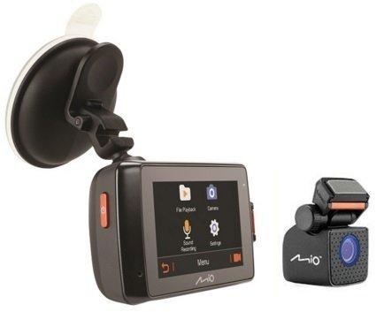 MIO MiVue 698 GPS Dual Rejestrator samochodowy