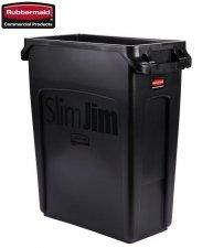Kosz Slim Jim® With Venting 60L Black