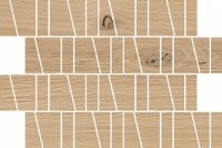 Cersanit Sandwood Beige Trapez Mosaic Matt 20x29,9